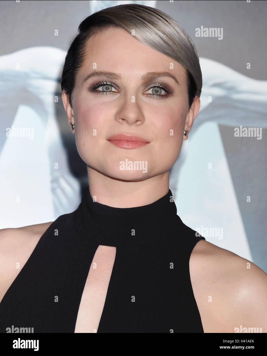 EVAN RACHEL WOOD US film actress in October 2016. Photo Jeffrey Mayer - Stock Image