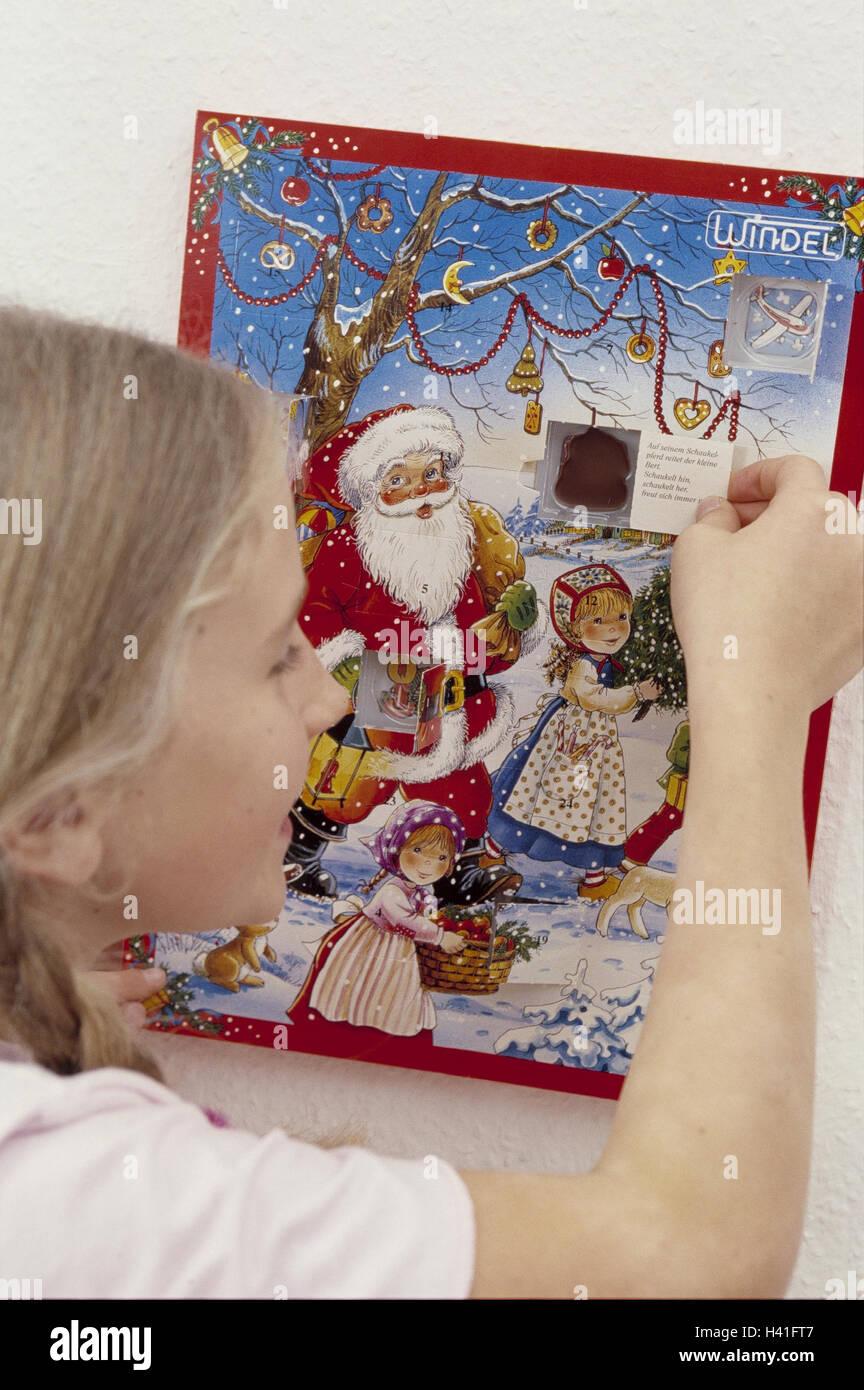Advent calendars girls little doors open detail Christmas Advent Christmas period calendar child please joy hand door open chocolate sweet ... & Advent calendars girls little doors open detail Christmas Stock ...