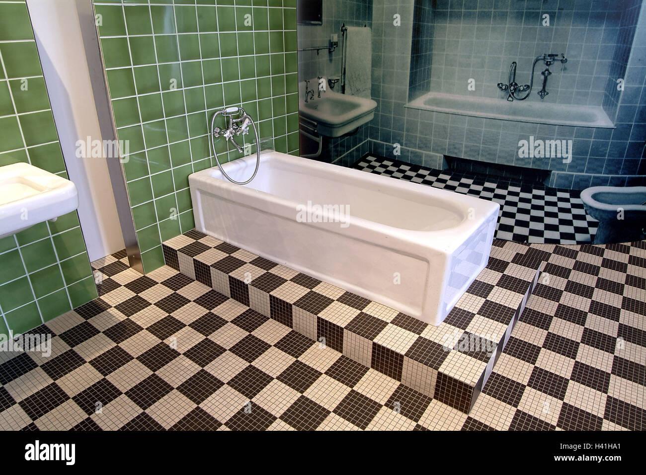 Germany, Saarland, Mettlach, Company Villeroy U0026 Boch, Exhibit, Keravision,  Bathroom, Europe, Porcelain Factory, Ceramics Company, Porcelain Company,  ...