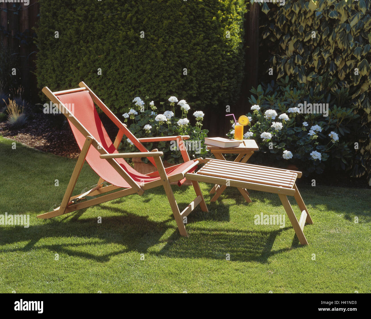 Garden, Deck Chair, Side Table, Drink, Book, Chair, Garden Chair, Folding  Chair, Leisure Time, Cosiness, Rest, Take It Easy, Leisure Time, Vacation,  ...