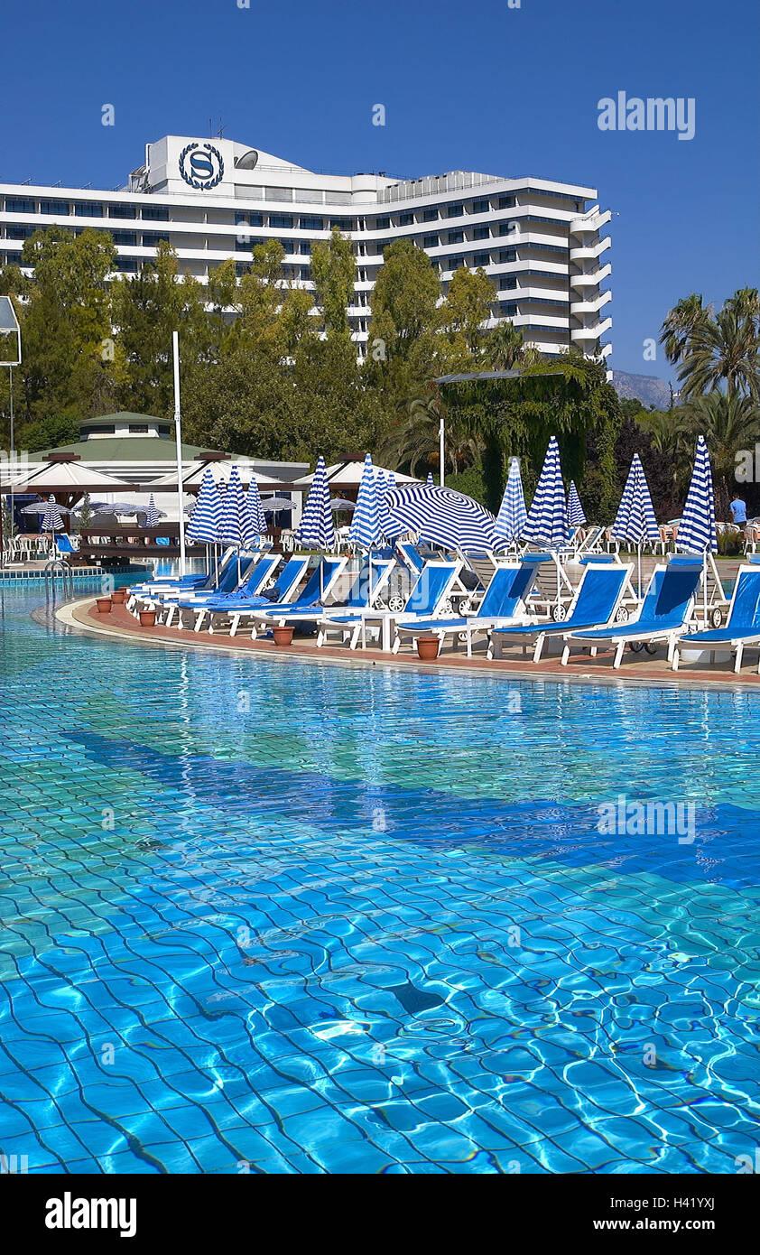 Turkey Antalya Sheraton Voyager Hotel Pool Plant South East