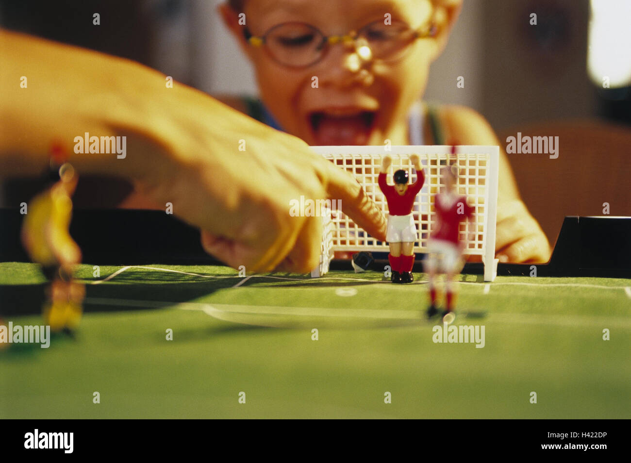 Children Table Football Play Detail Inside Boy Table Football