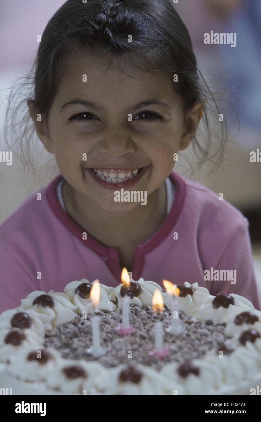 Remarkable Girls Happy Birthday Cake Candles Blast Childrens Birthday Personalised Birthday Cards Veneteletsinfo