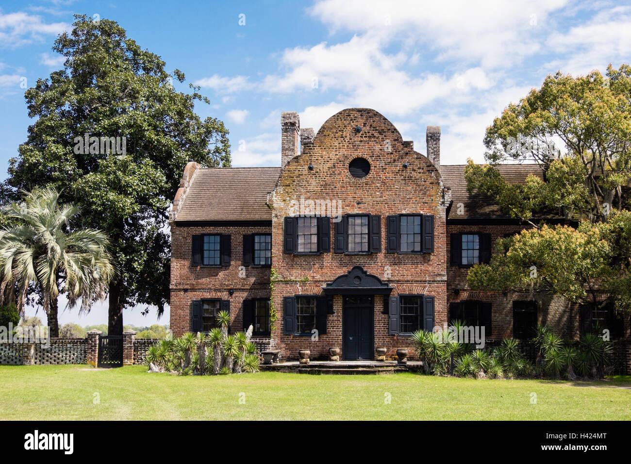Middleton Place Plantation, Charleston, South Carolina - Stock Image