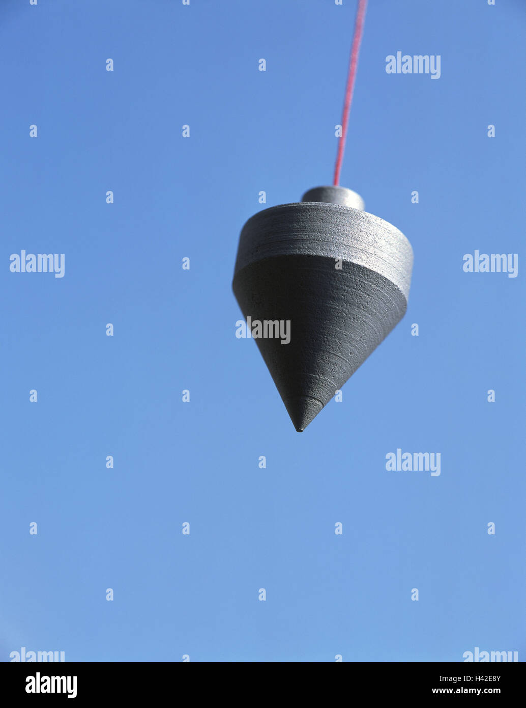 Plumb line, icon, building of a house, construction, planning, measure, build, metrology, tools, statics, perpendicular, Stock Photo