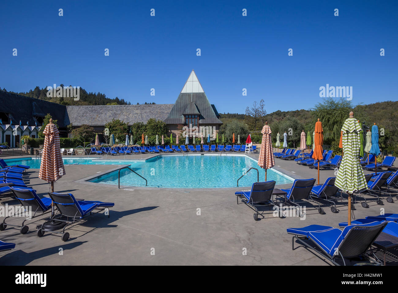 Francis ford coppola vineyards stock photos francis ford coppola vineyards stock images alamy for What is a freshwater swimming pool