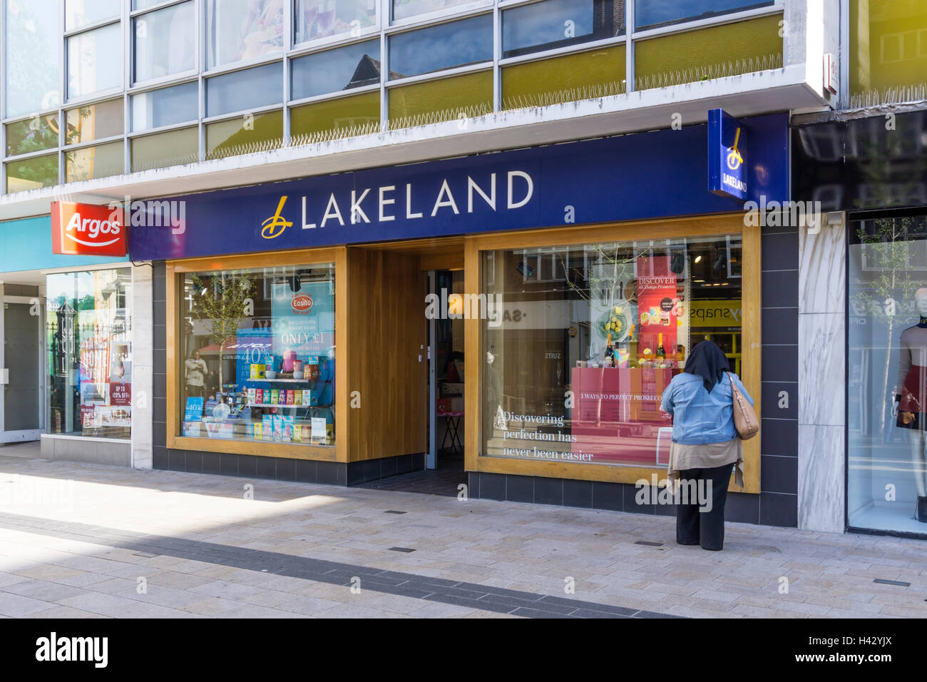 A Lakeland kitchenware shop in Bromley, Kent. - Stock Image