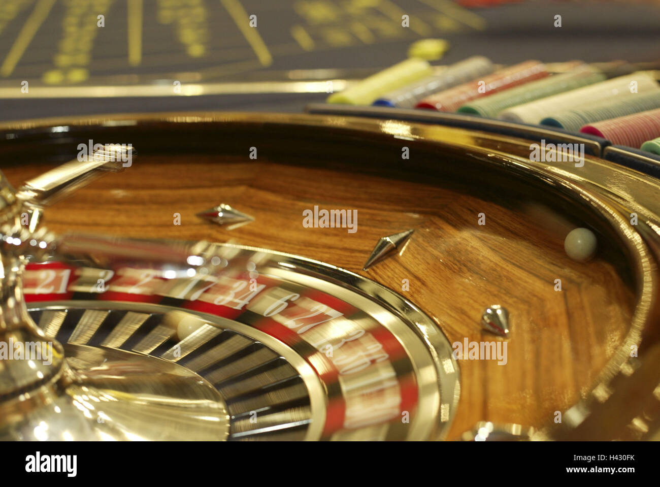 Casino, roulette, detail, blur casino, game chance, game, risk, chance, roulette game, roulette, roulette game, - Stock Image