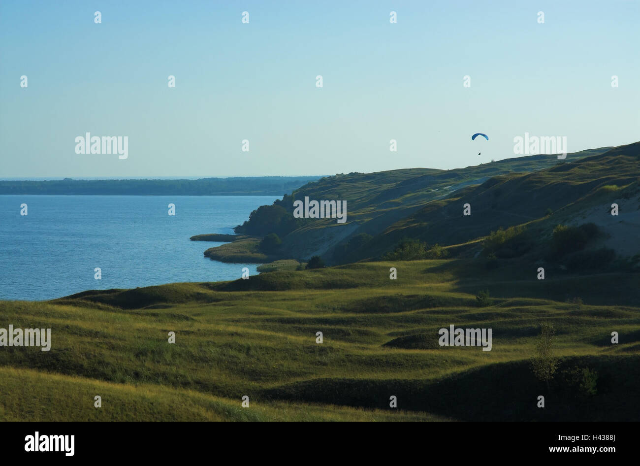 Prague eyelids, the Baltic Sea, coast, Nagliai reserve, Nida, national park health resort broad bay bar, Lithuania, - Stock Image