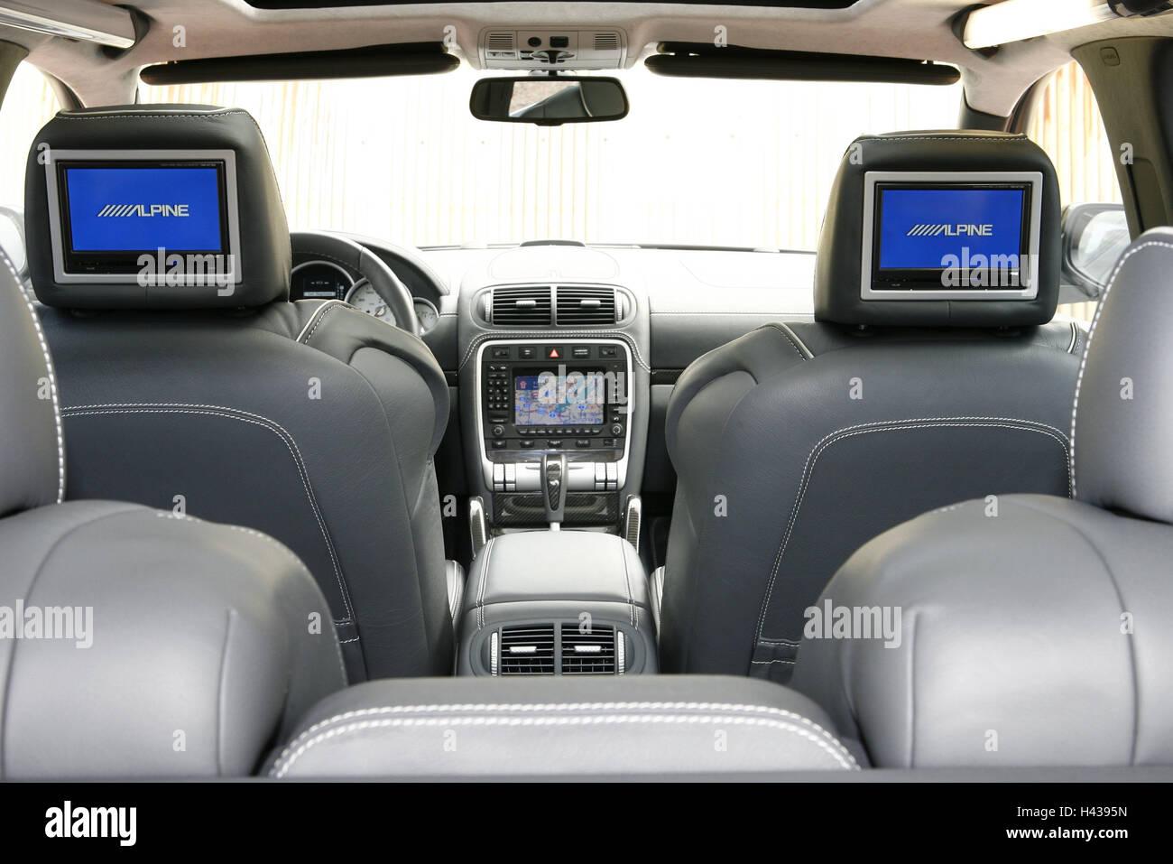 Luxury Cars Porsche Cayenne Ground Interior Vehicle Car Stock Photo Alamy