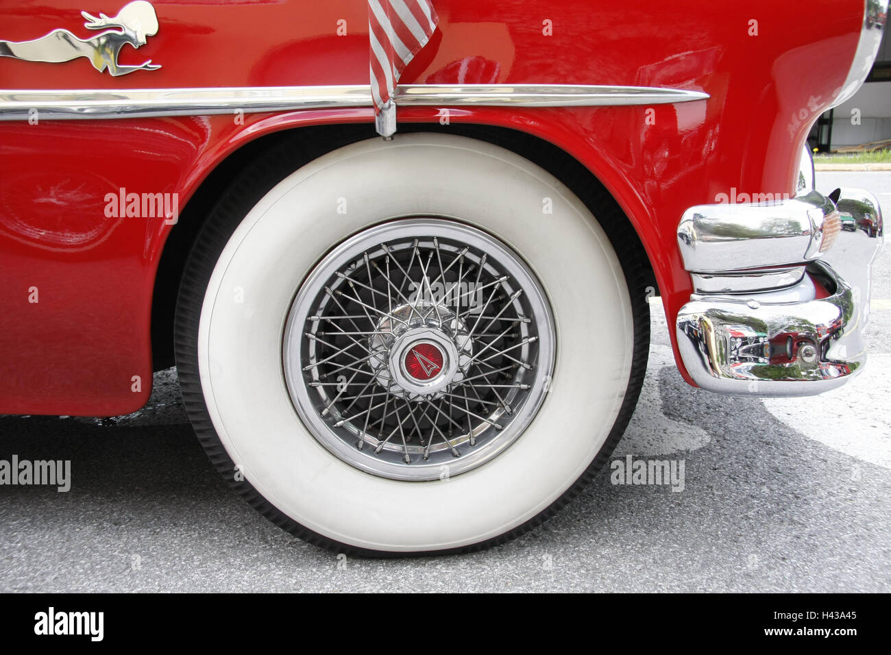 Model Sports Car Wire Wheels Tires