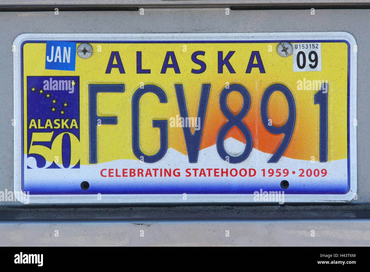 Car registration, Alaska