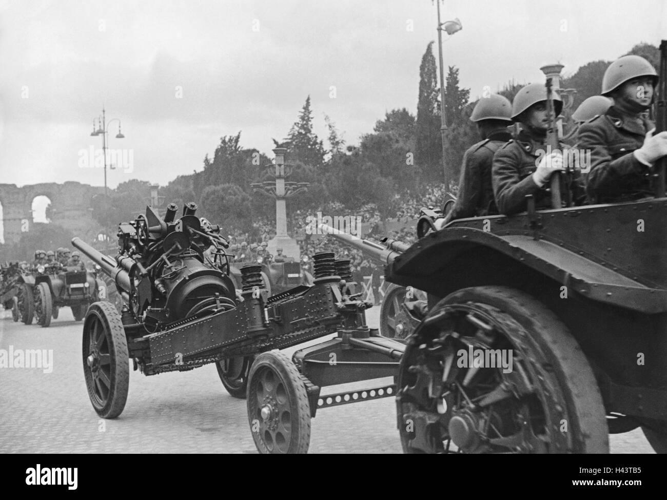 Quand Hitler et Mussolini jouaient les touristes à Rome