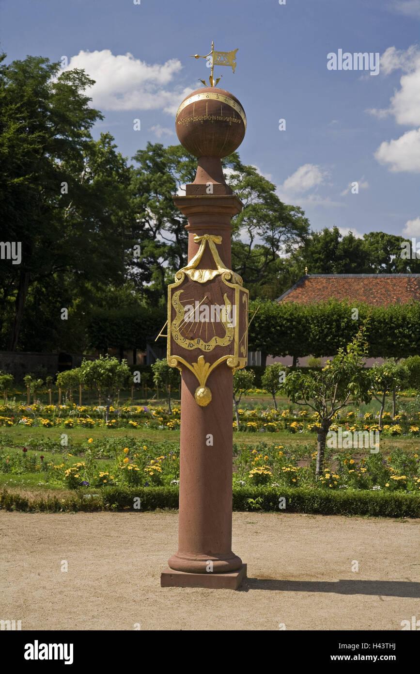 Bon Germany, Hessen, Darmstadt, Lordu0027s Garden, Barometre, Park, Park, Garden