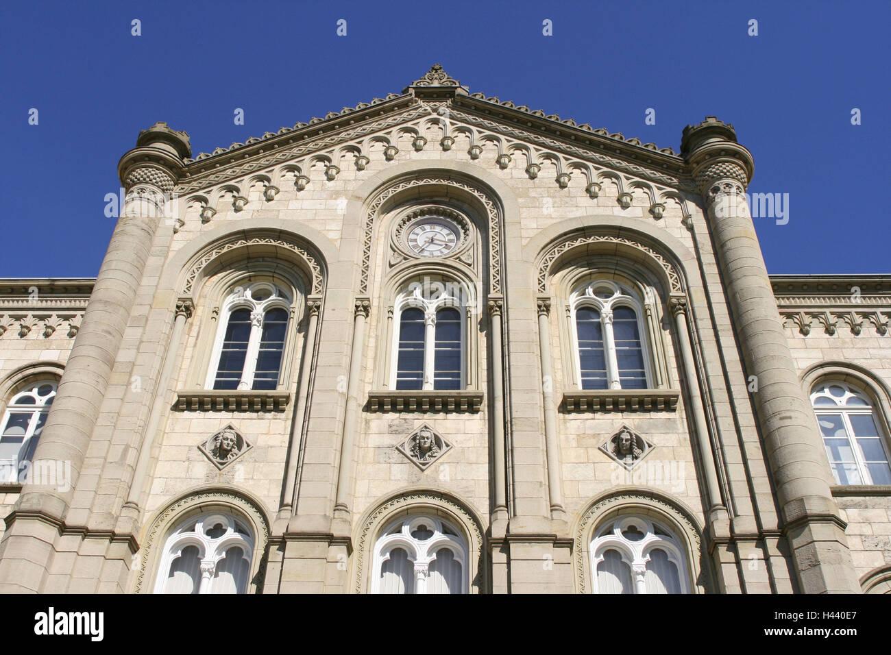 Germany, Lower Saxony, Goettingen, university, lecture hall maximum, detail, - Stock Image
