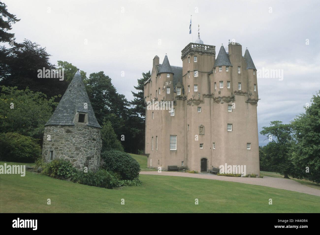 Great Britain, Scotland, Aberdeenshire, Alford, Craigievar Castle, - Stock Image
