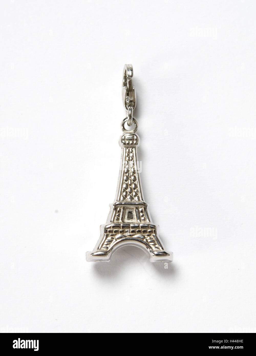 Pendant, Eiffel Tower, Paris, - Stock Image