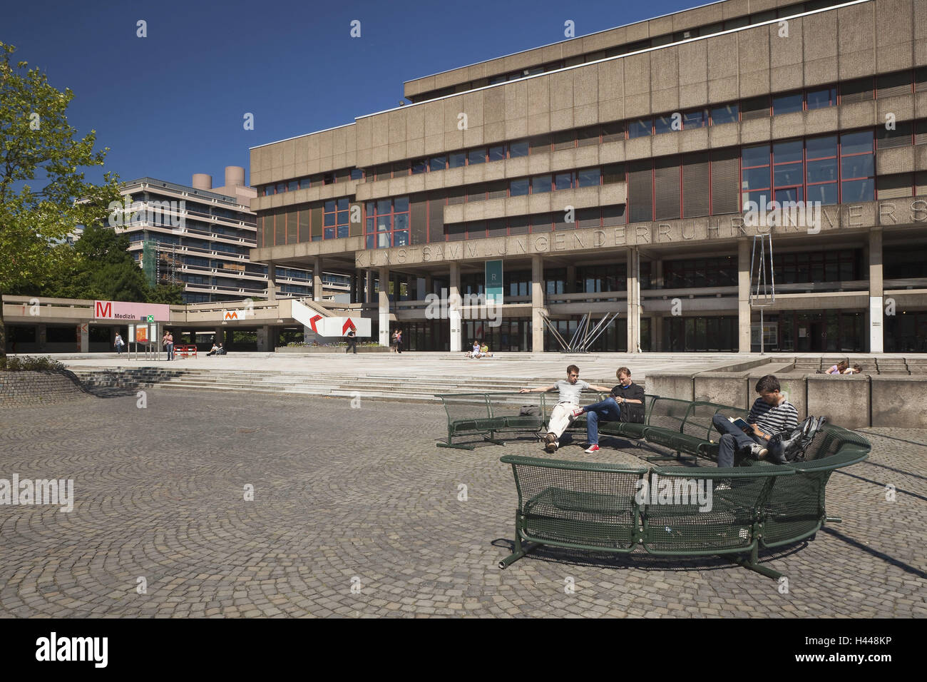 Germany, North Rhine-Westphalia, Bochum, Ruhr (region) university, - Stock Image