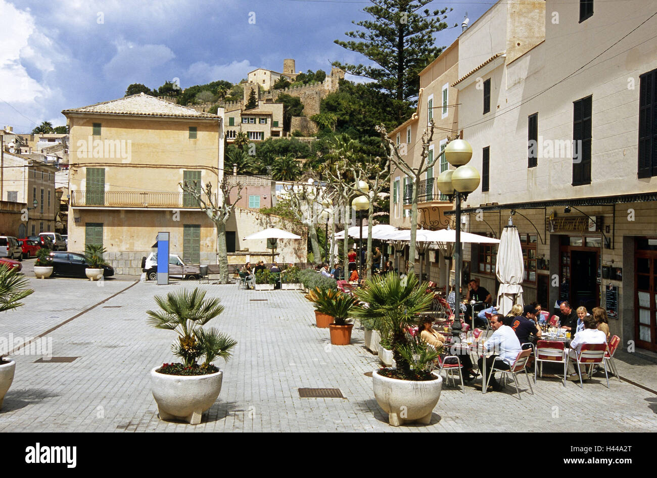 Spain, the Balearic Islands, island Majorca, Capdepera, Place de ...