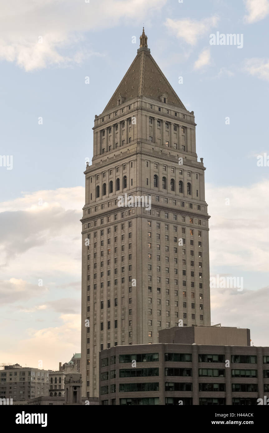 Thurgood Marshall United States Courthouse for the United States Court of Appeals for the Second Circuit in Lower - Stock Image