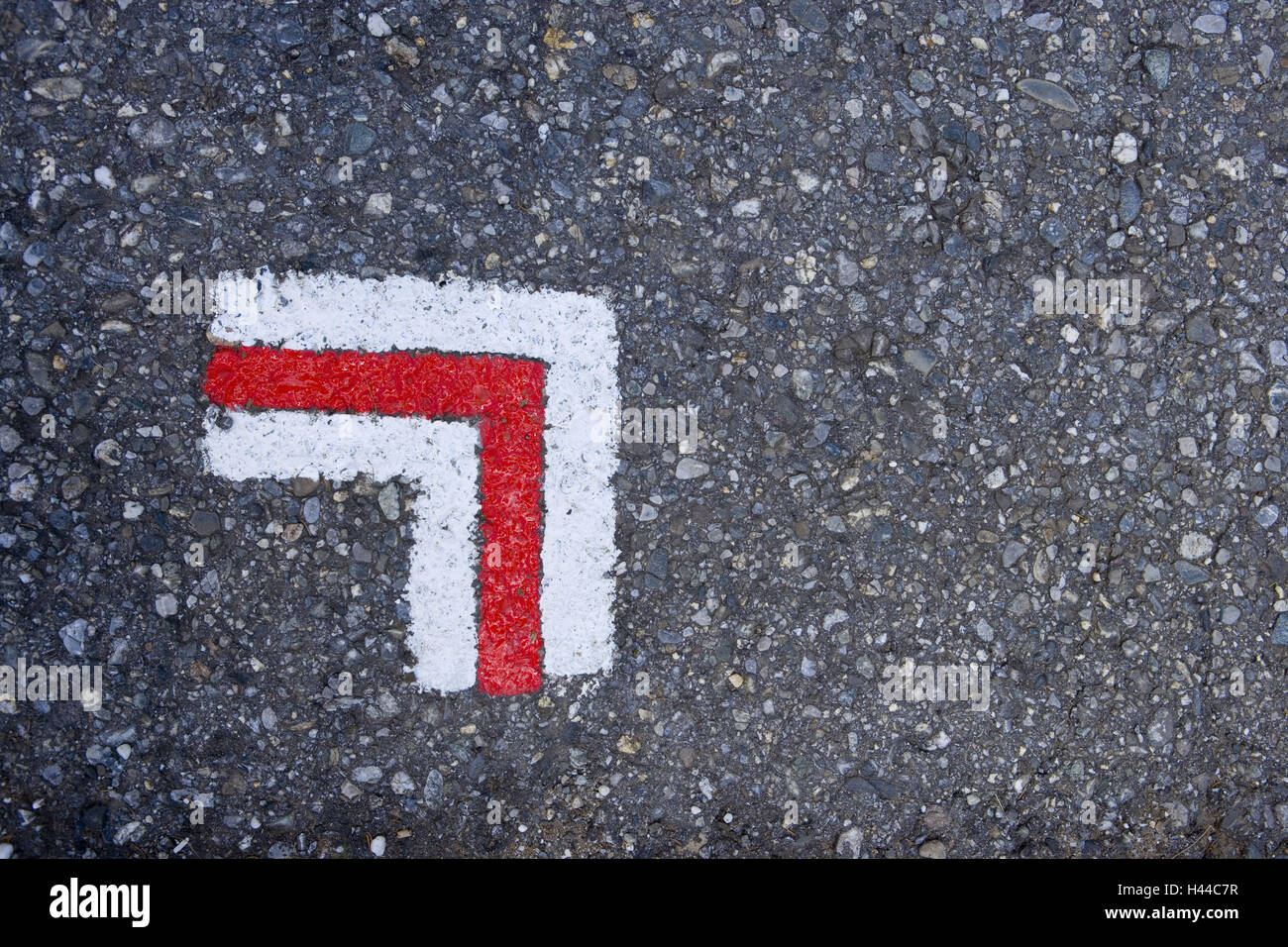 Road selection, - Stock Image