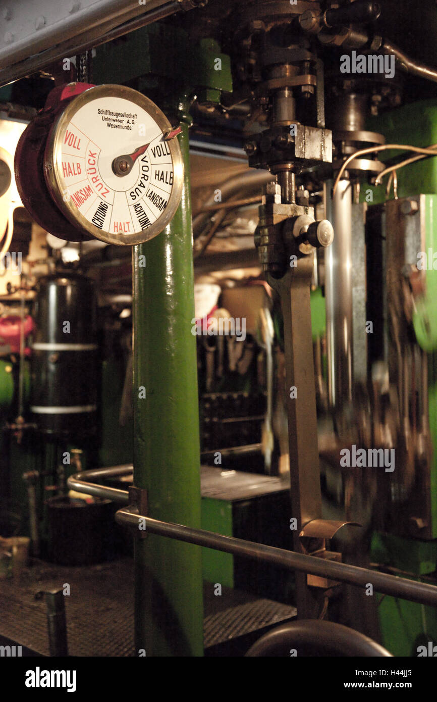Spaceship Engine Room: Telegraph Machine Stock Photos & Telegraph Machine Stock