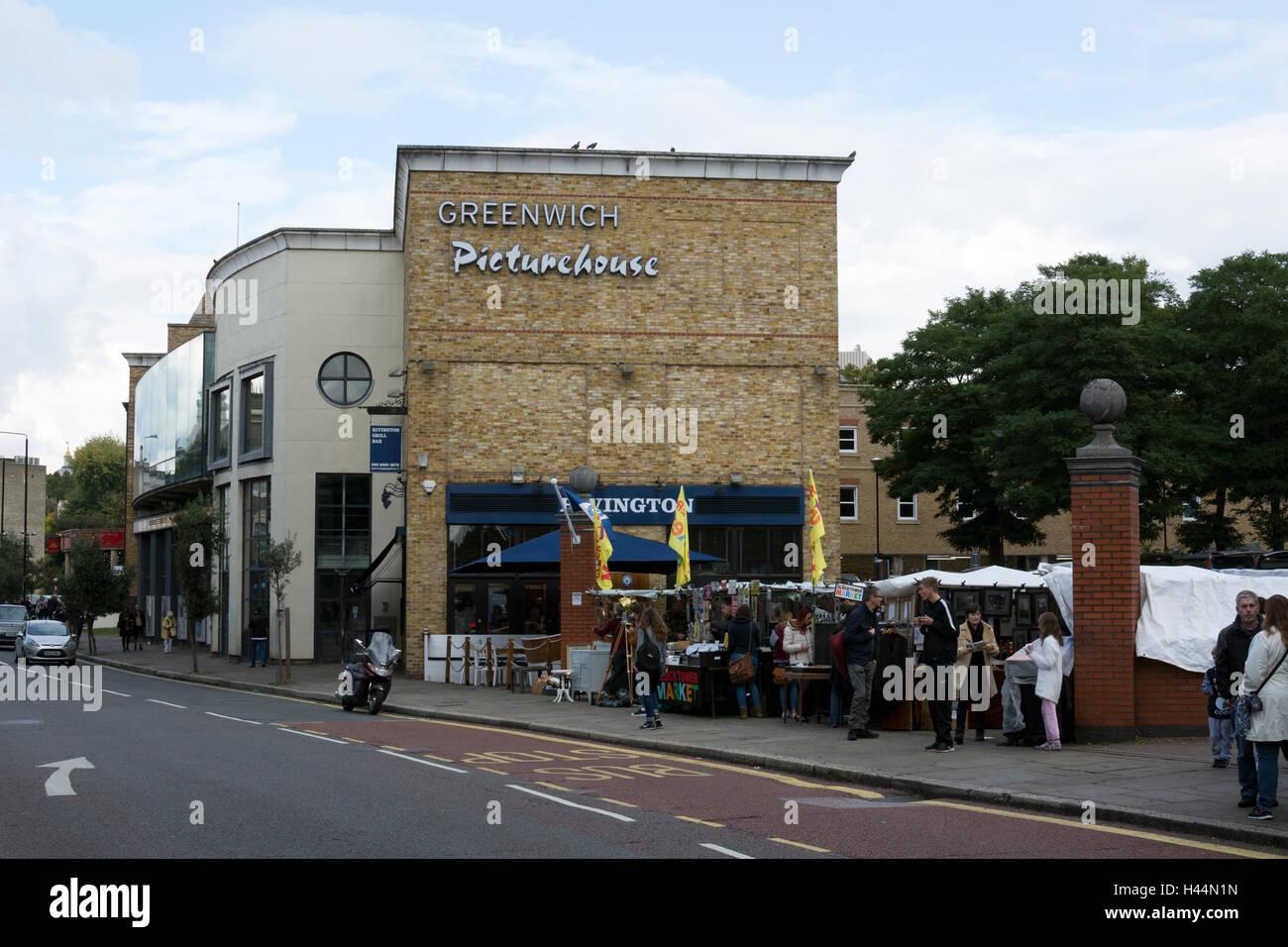 Greenwich Picturehouse, London, UK - Stock Image