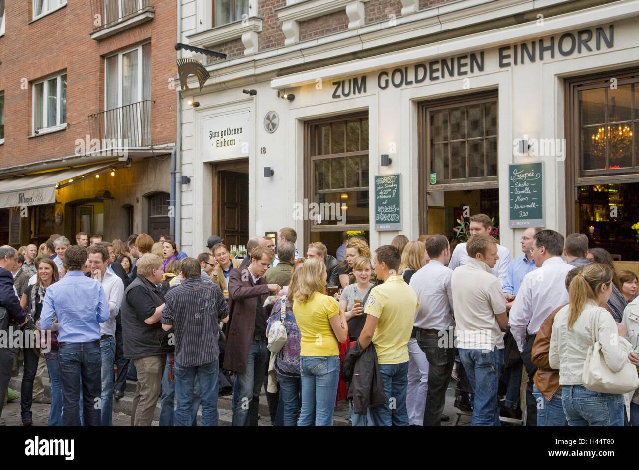 Einhorn Düsseldorf bar to the golden unicorn bar bars in the ratinger
