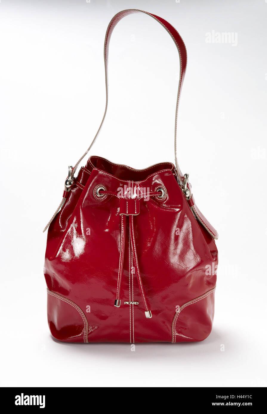 df53d6e371063 Red Handbag Bag Stock Photos   Red Handbag Bag Stock Images - Alamy