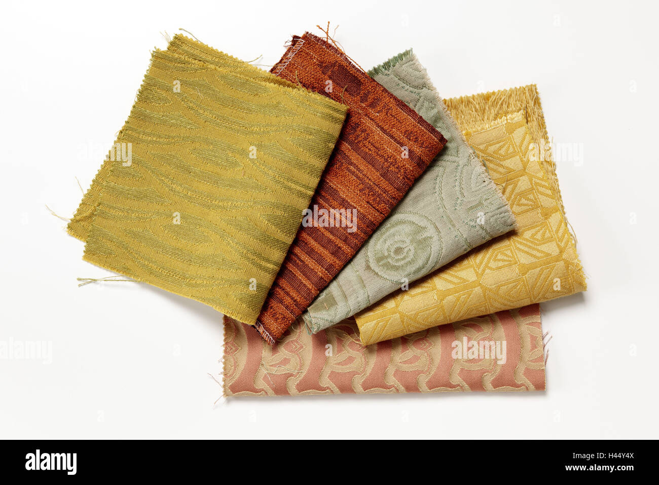 Textiles, different, - Stock Image