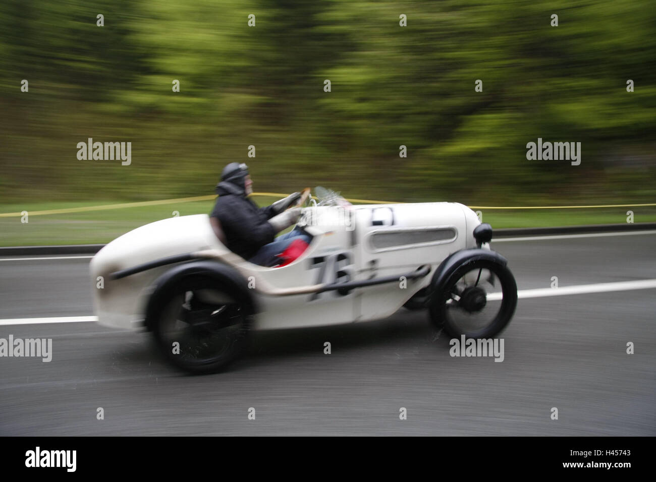 Boiler Mountain Race, Old Timer Car, Bugatti Type 37 A, Mountain Passage