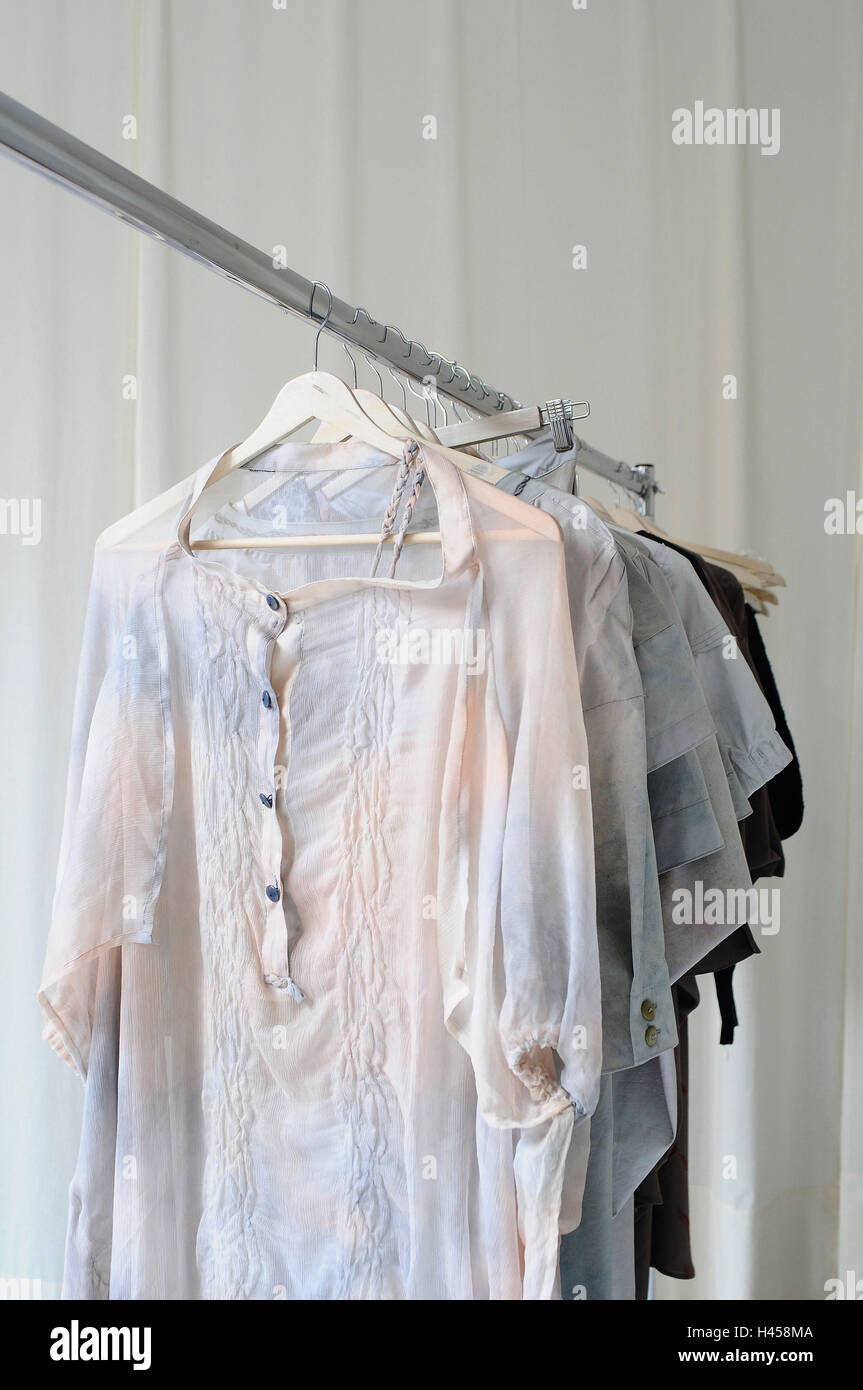 Clothes seaweeds, clothes, haute couture, - Stock Image