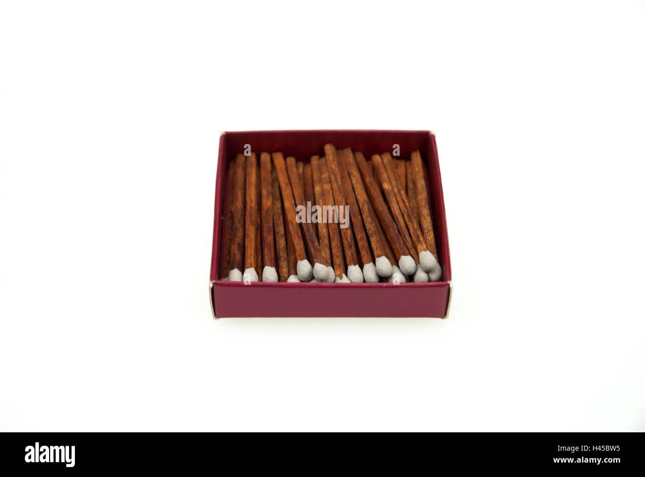 Match box, matches, - Stock Image