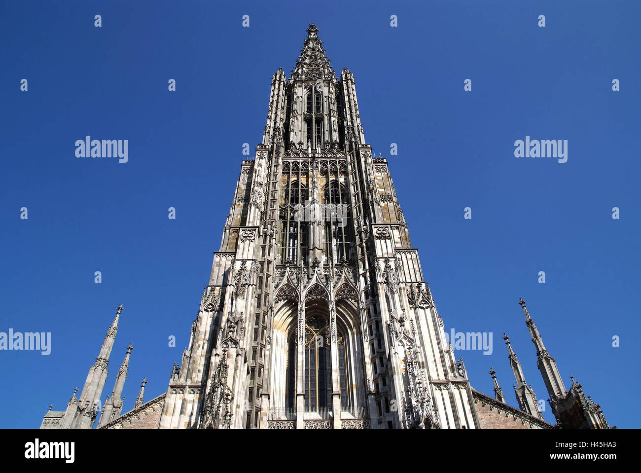 Germany, Baden-Württemberg, Ulm, Minster, Stock Photo