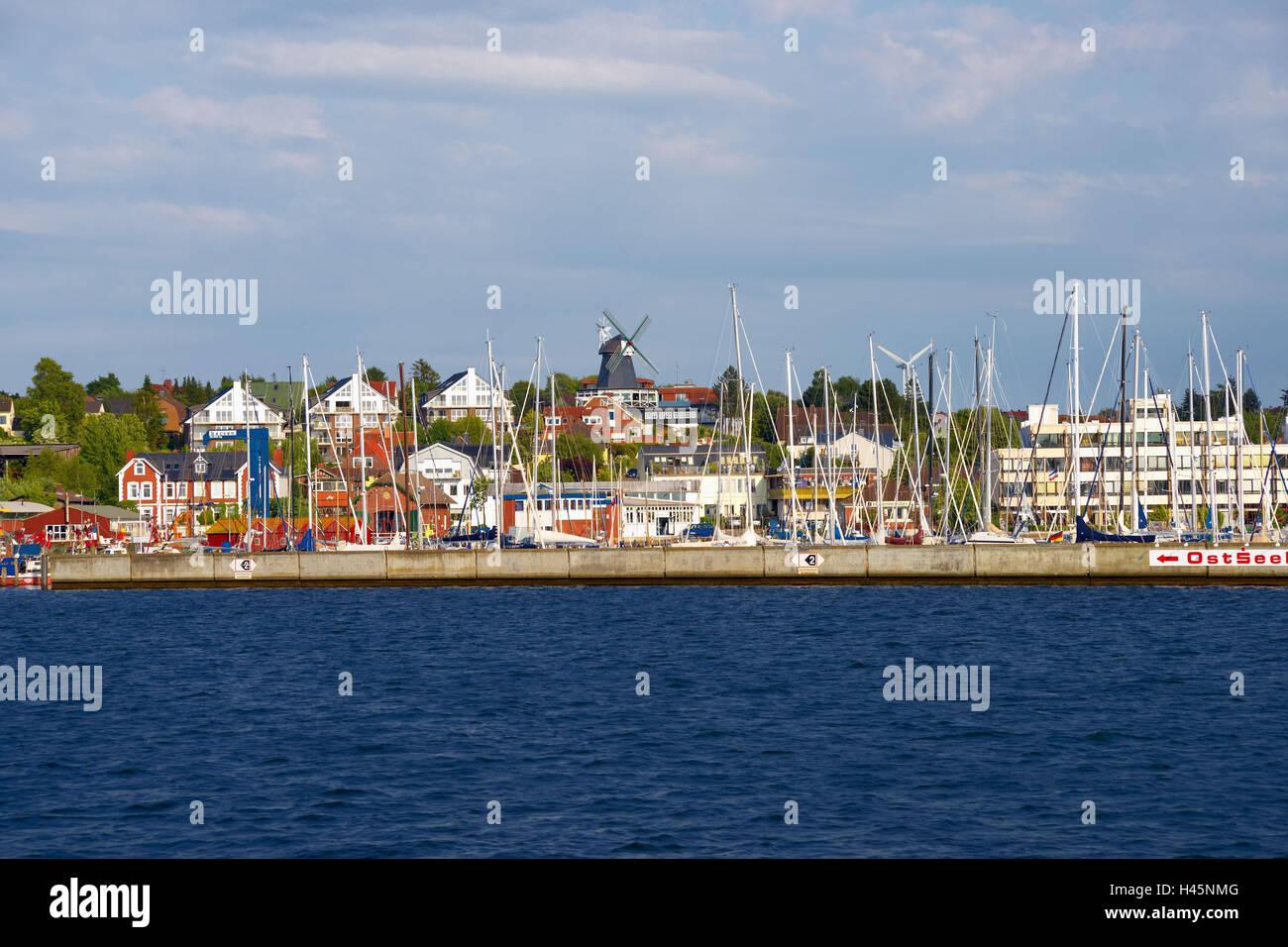 Germany, Schleswig - Holstein, Kiel, Baltic bath Laboe, - Stock Image