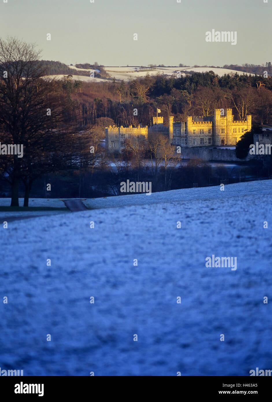 Leeds Castle. Kent. England. UK - Stock Image
