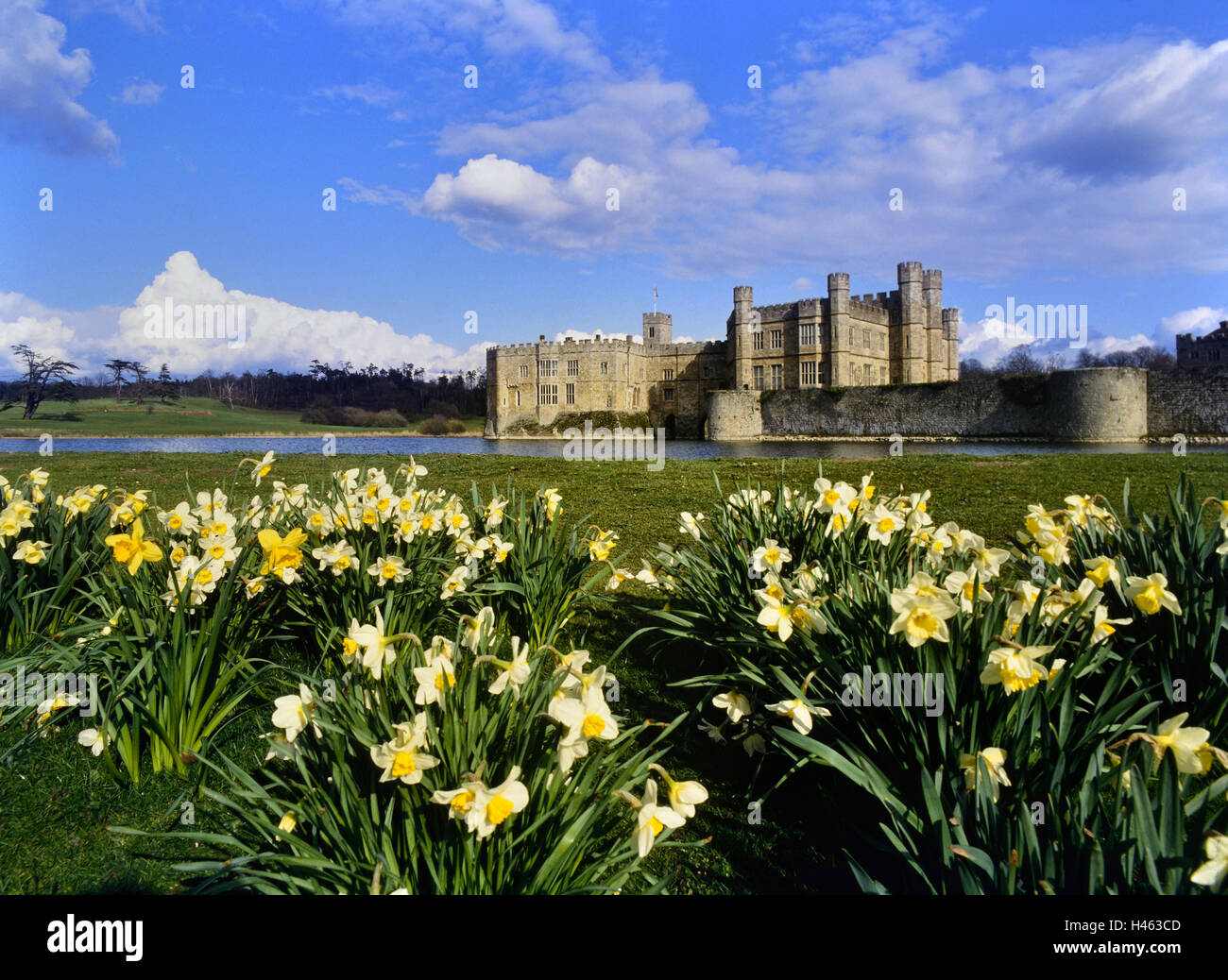 Leeds Castle. Kent. England. UK - Stock Image