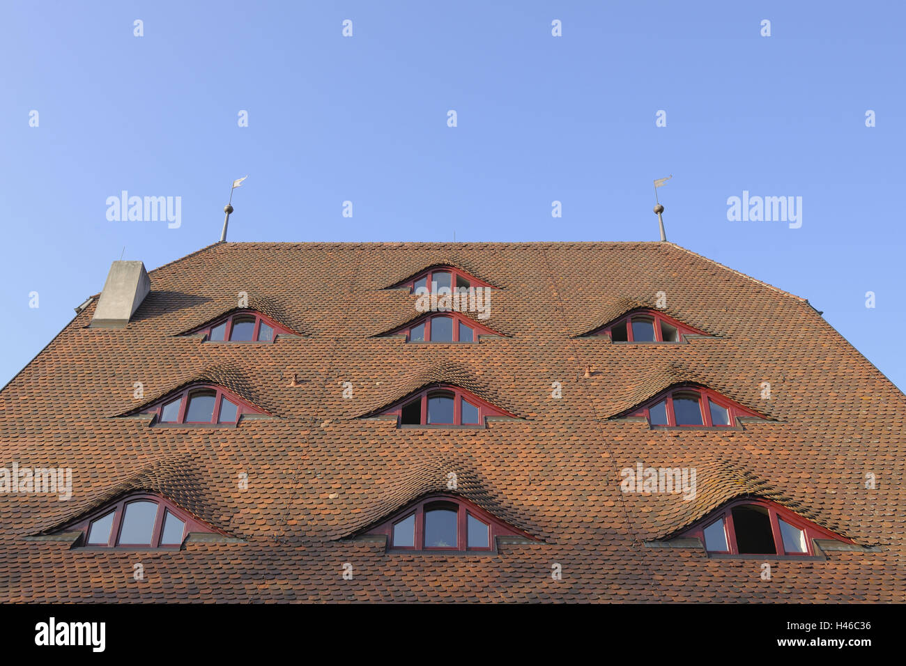 Roof Dormers Stock Photos Roof Dormers Stock Images Alamy