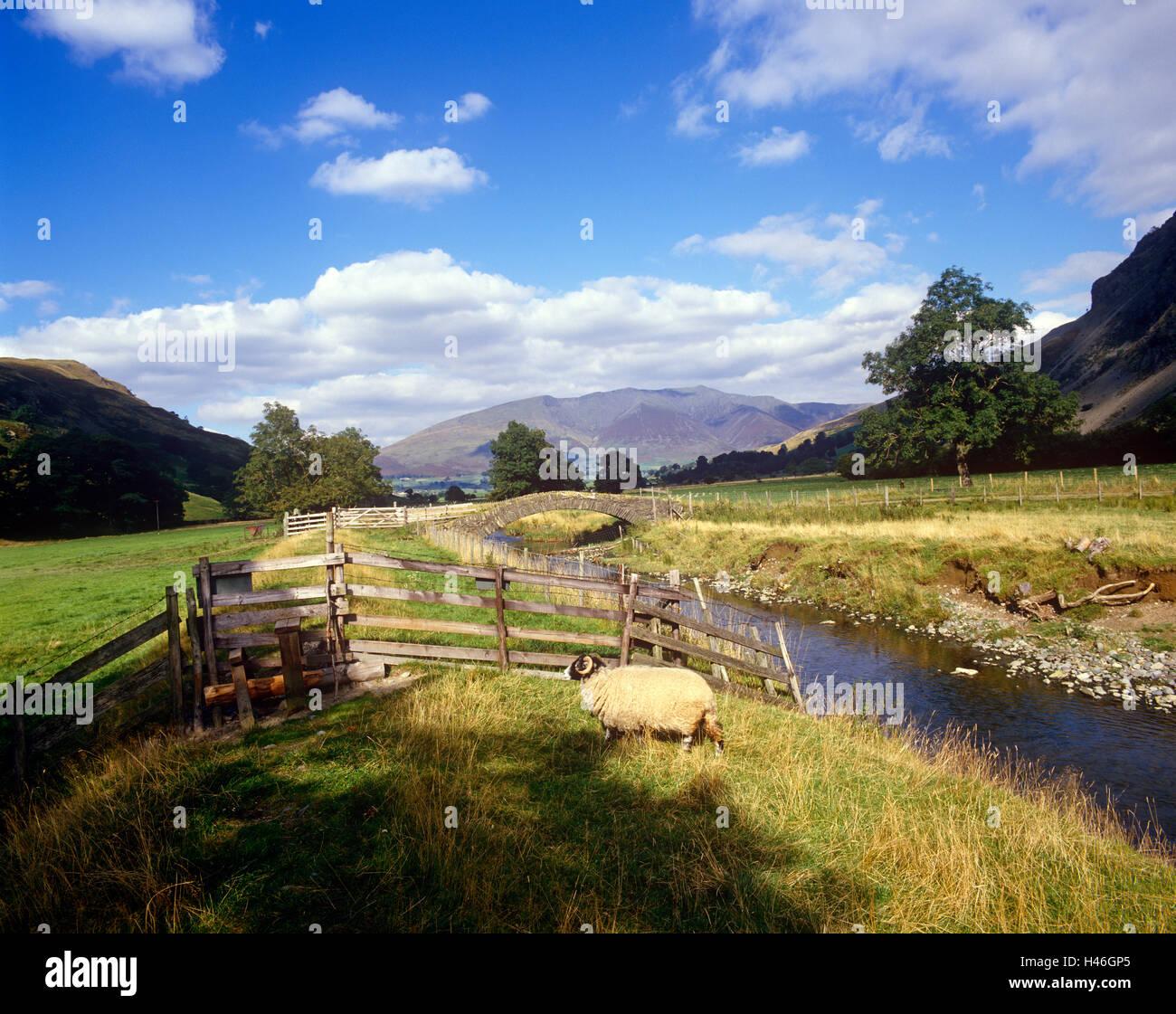 St.Johns in Vale, Cumbria - Stock Image
