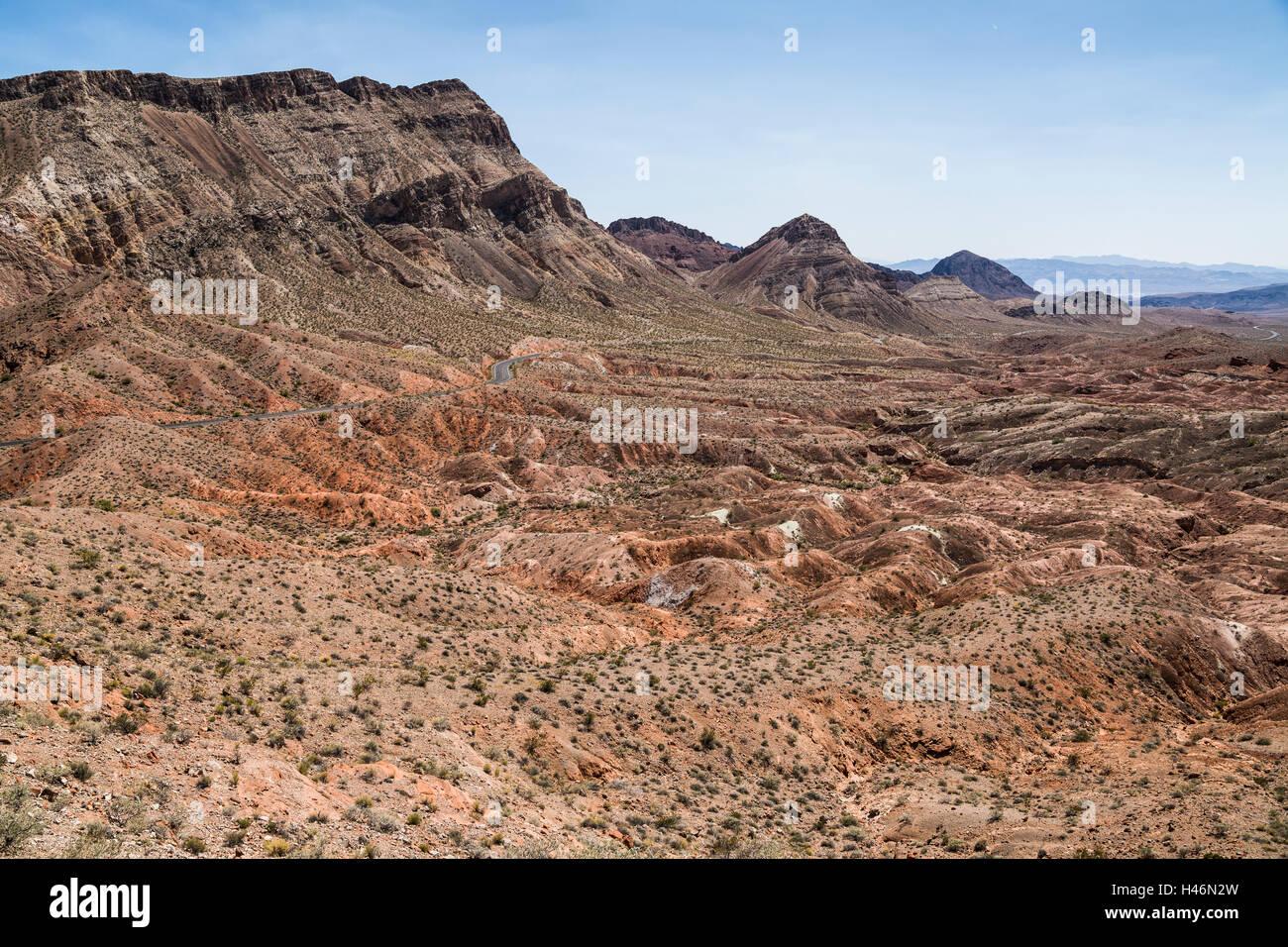 Mojave Desert, Mohave County, Nevada, USA - Stock Image
