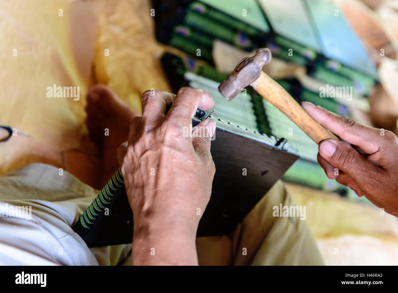 Fair trade handcraft - Stock Image