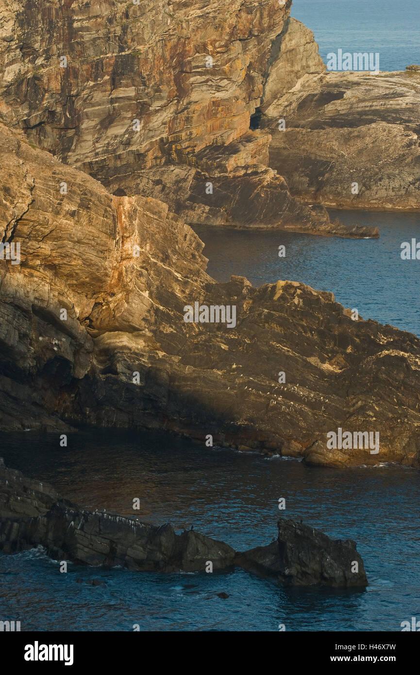 Ireland, Mizen Head, bile coast, - Stock Image
