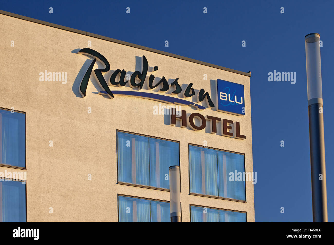 Germany, Lower Saxony, Hannover, exhibition site, Radisson