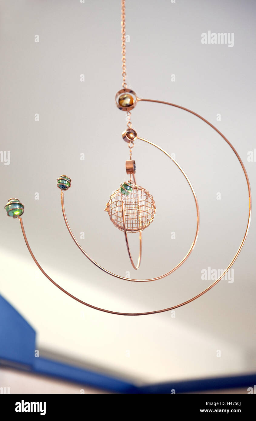 Dreamcatcher, indoors, decoration, interior, esotericism, hanging, - Stock Image