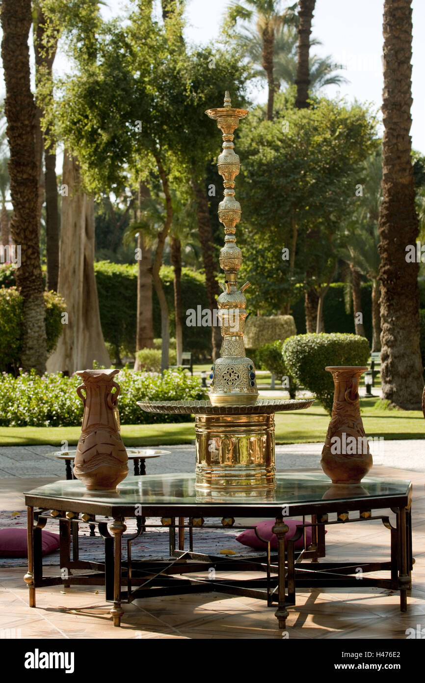 Egypt, Luxor, Sofitel winter Palace Luxor, traditional five-star ...