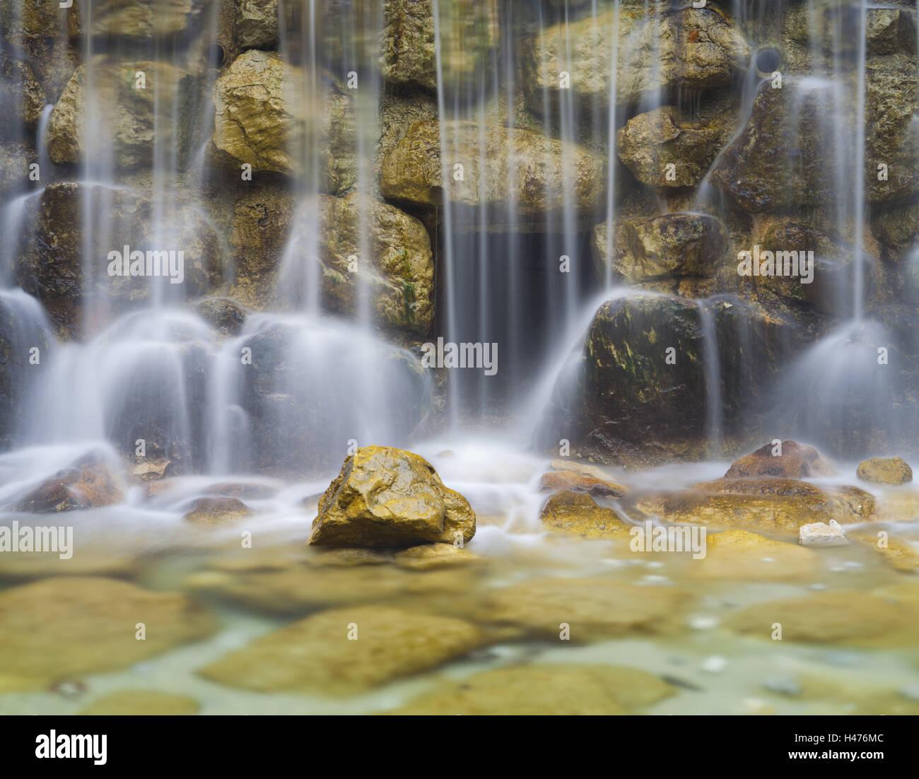 Germany Bavaria Ammergebirge Allgau Pollat Waterfall Stock Photo Alamy