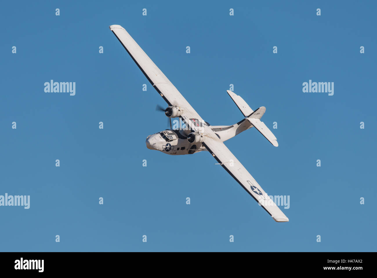 Consolidated PBY-5A Catalina seaplane 433915 / G-PBYA 'Miss Pick Up' operated by The Catalina Society (Plane - Stock Image