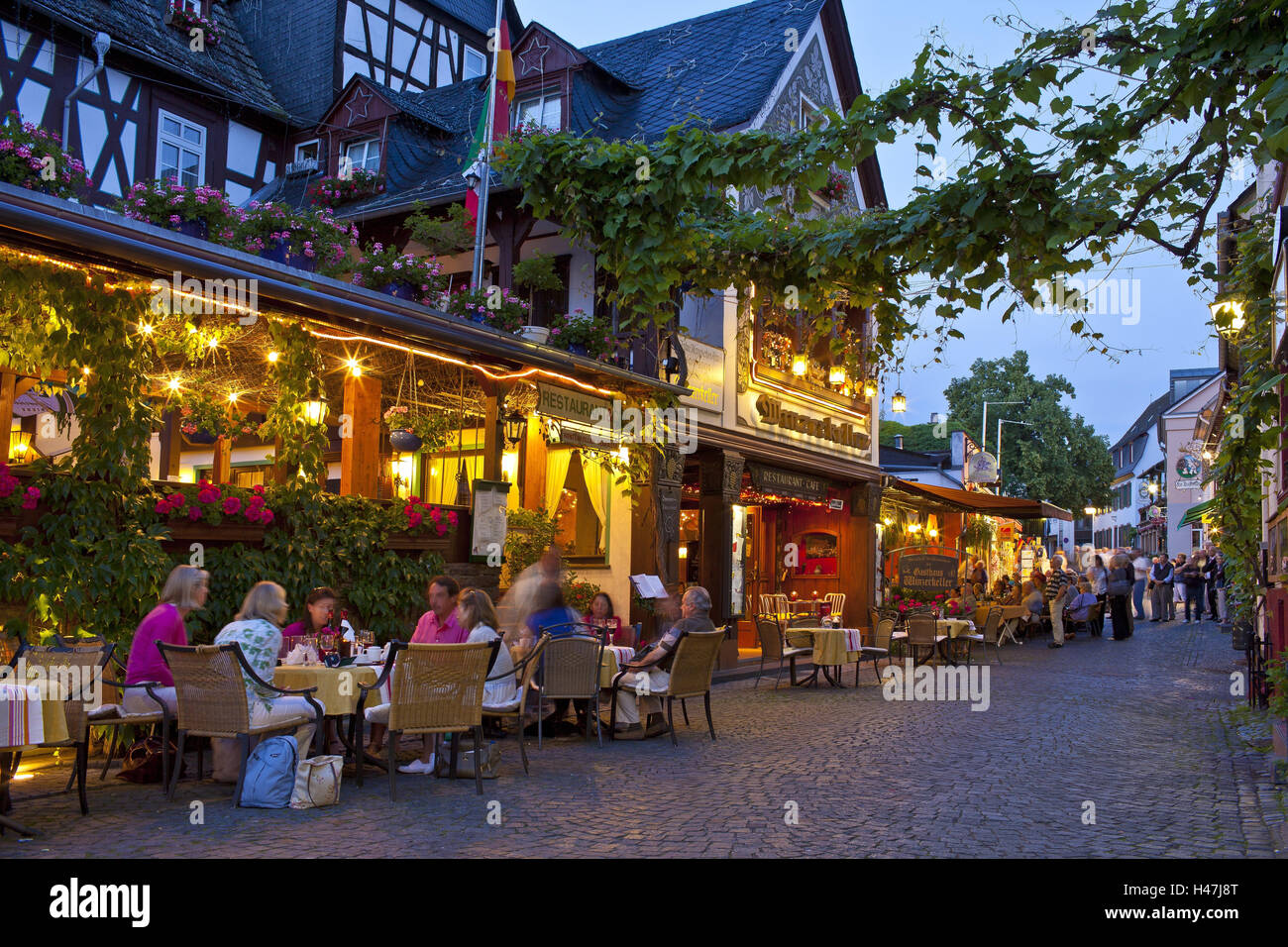 Old Town With Wine Bar Stock Photos & Old Town With Wine Bar Stock ...
