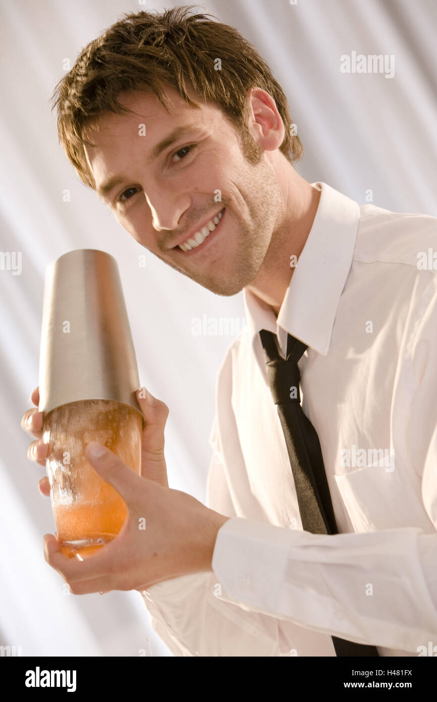 Barkeepers, shakers, smile, portrait, Stock Photo