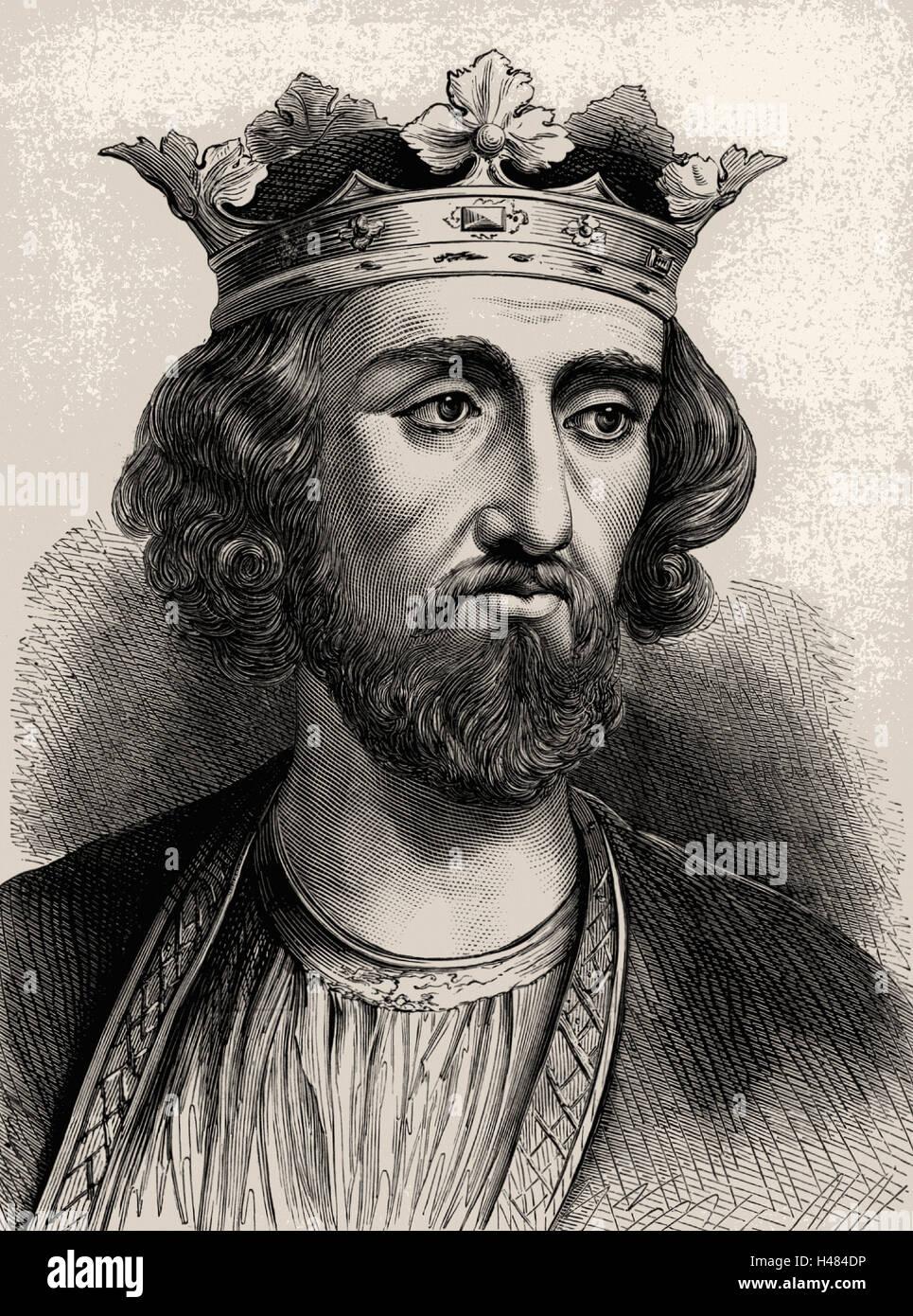 Edward I (1239-1307), king of England from 1272. Known as Edward Longshanks
